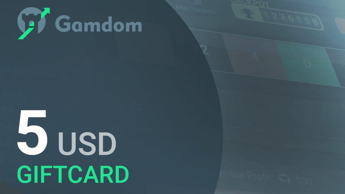 Gamdom $5 Giftcard | Buy cheap on Kinguin.net