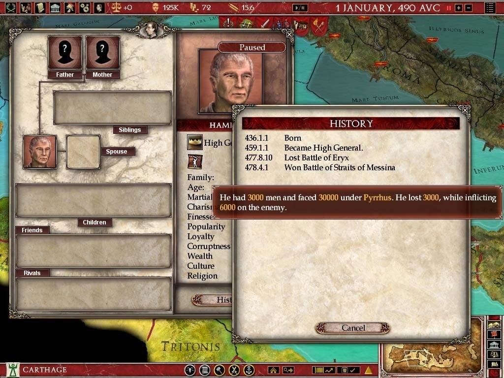 Europa Universalis: Rome Gold Edition