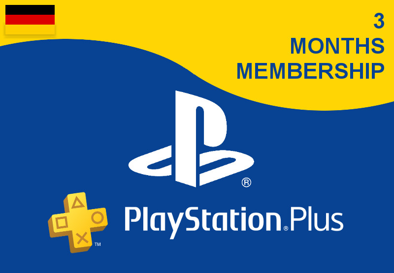 PlayStation Plus Live Card 90 Tage PSN