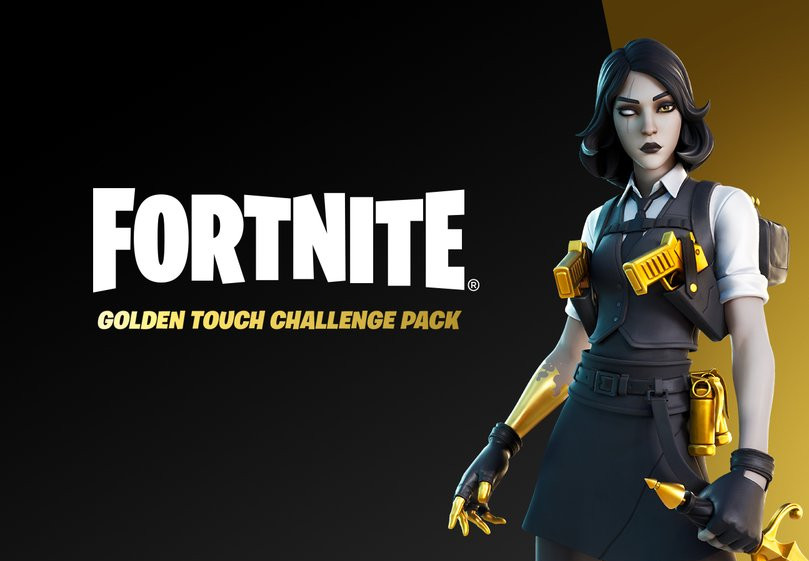 Fortnite Golden Touch Challenge Pack AR Xbox Series X